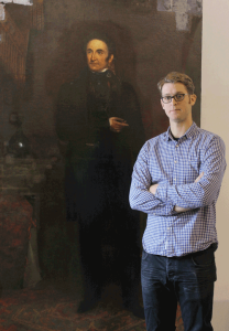 David Legris and the Hagerman Portrait