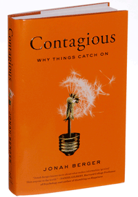 Contagious: Why Things Catch On Book Cover