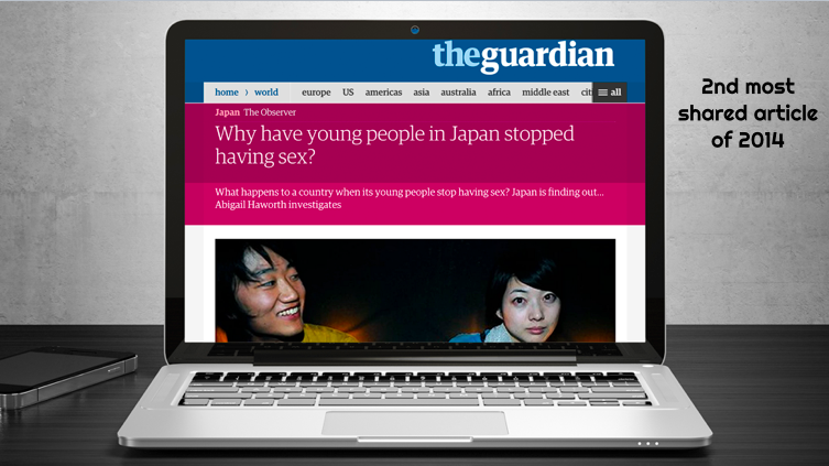Th second most shared article on The Guardian's website in 2014.