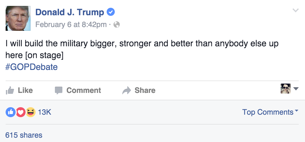 Trump Basic Status Post 2016-02-29 at 4.31.15 PM